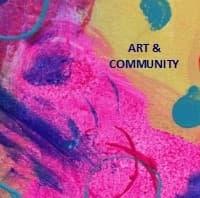 Art & Community Button